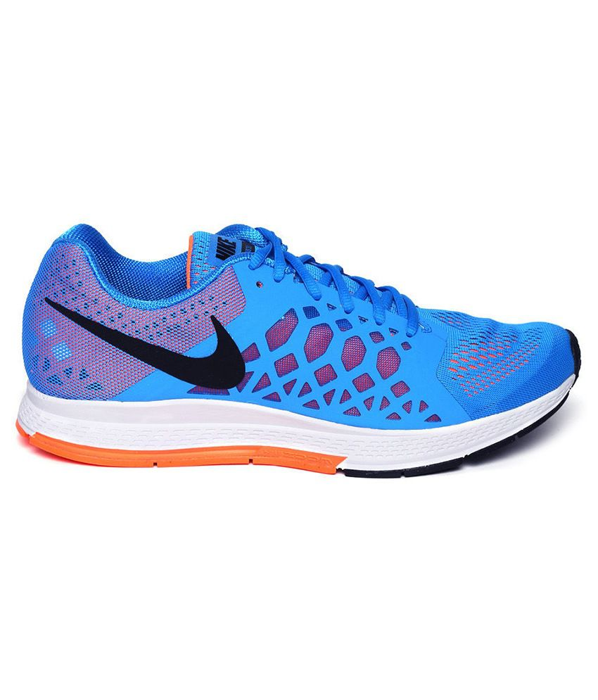 low priced 2407b 0d4a2 ... Nike Air Zoom Pegasus 31 Blue Sport Shoes ...