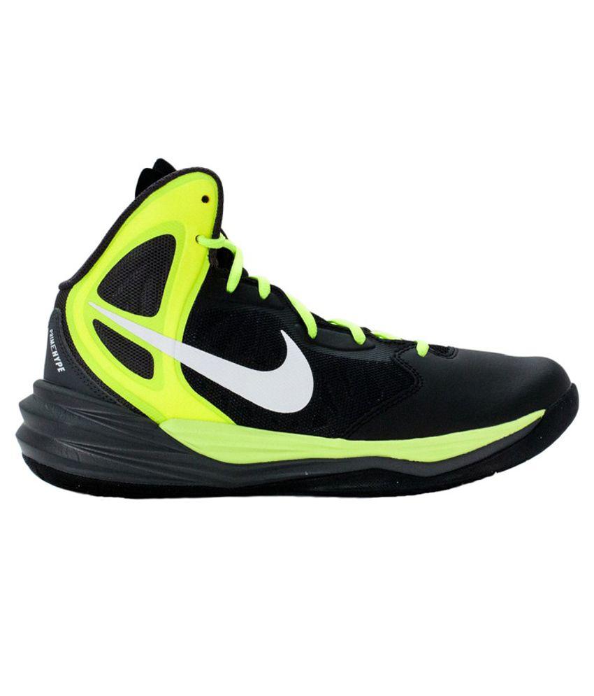 online store c6a72 ec54f Nike Prime Hype Df Black Sport Shoes