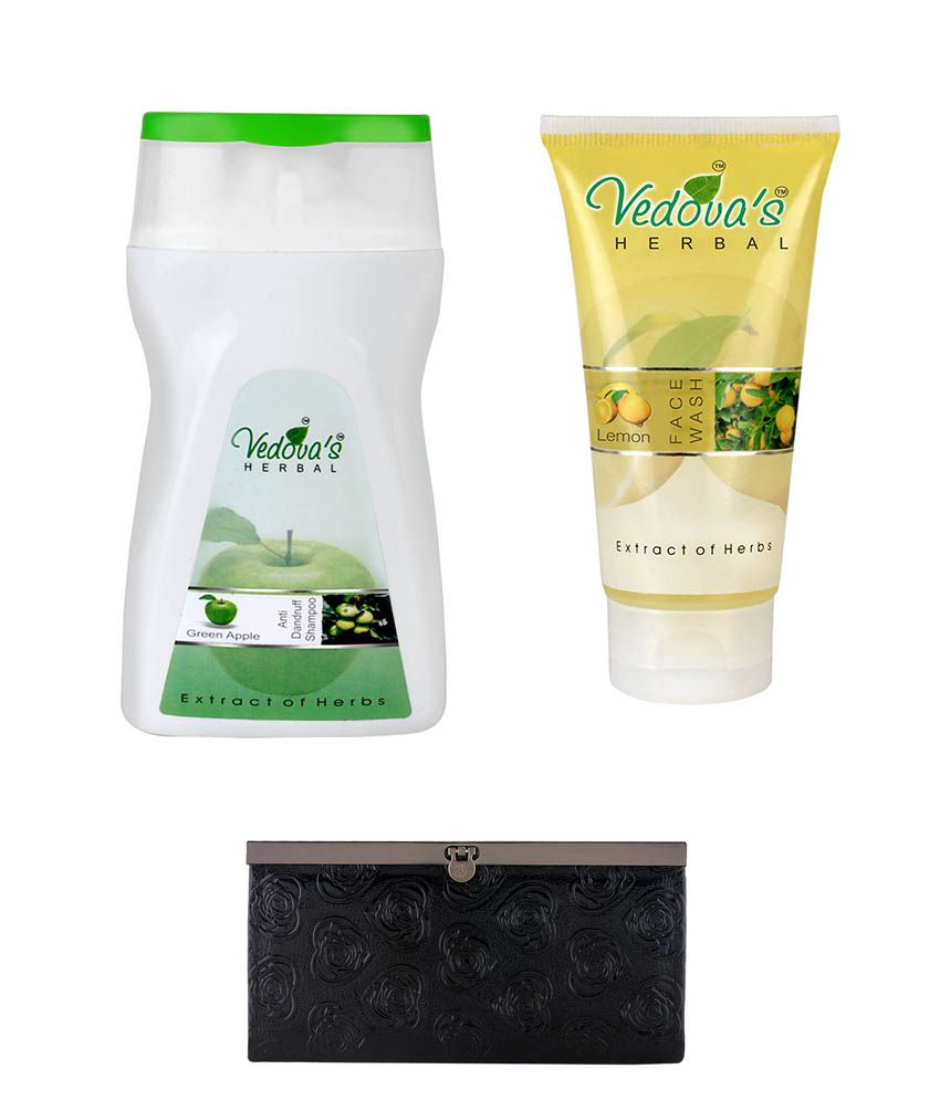 Vedova's Herbal Care Vedova's Herbal Care Green Apple Shampoo & Lemon Face Wash