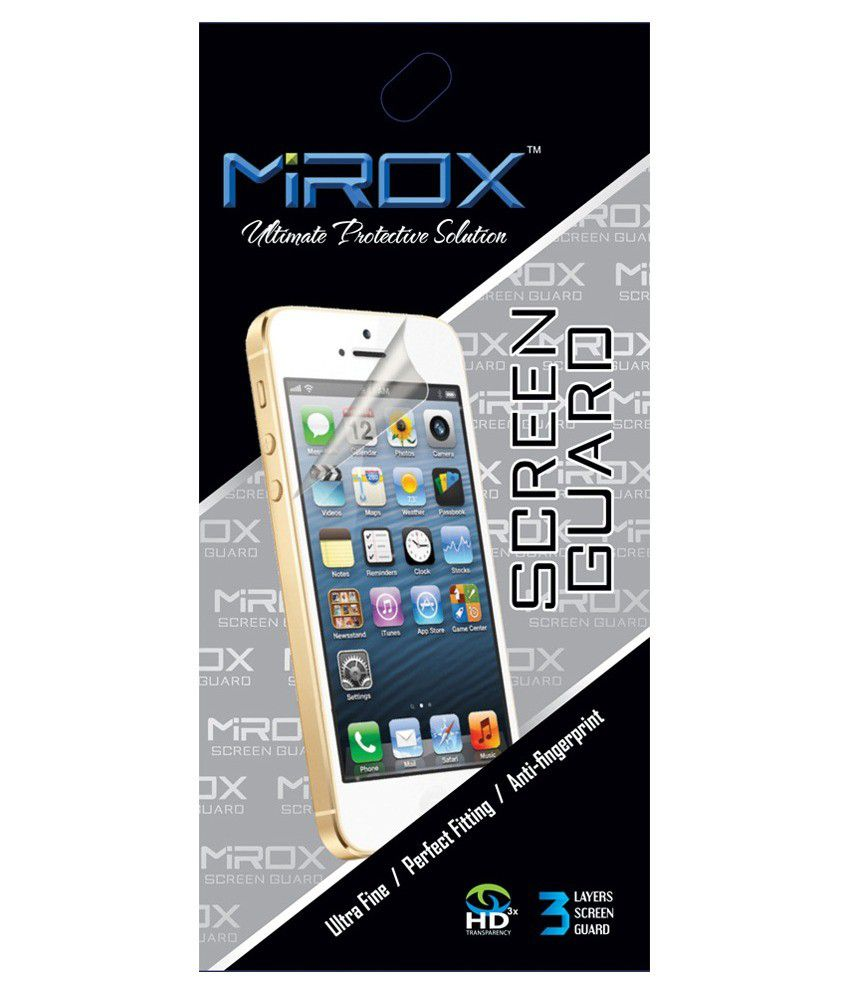 Mirox Clear Screen Guard For Moto G2