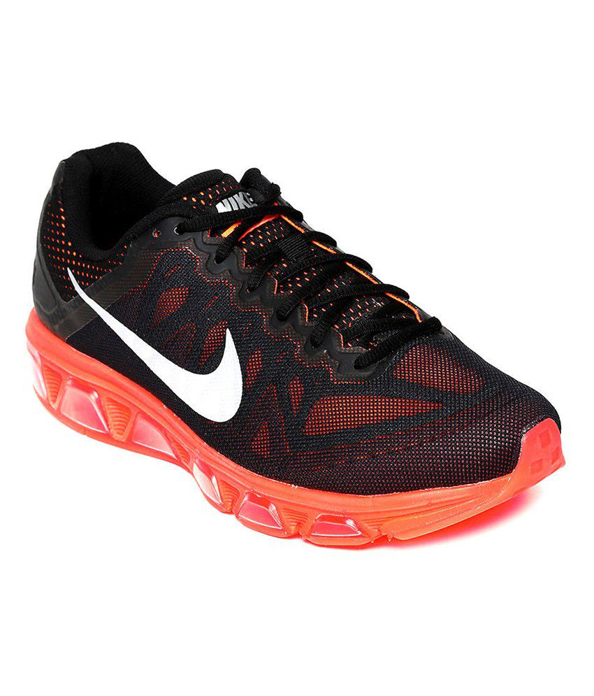 best website ccfa8 9dc7a Nike Air Max Tailwind 7 Black Sport Shoes - Buy Nike Air Max Tailwind 7  Black Sport Shoes Online at Best Prices in India on Snapdeal
