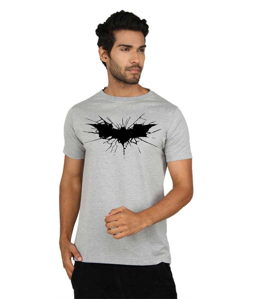Sayitloud Multicolour Cotton Round Neck Printed T-Shirt