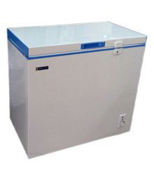Blue Star 150LTR Chest Freezer - CHF150C/CHFSD150D Deep Freezer White and Blue
