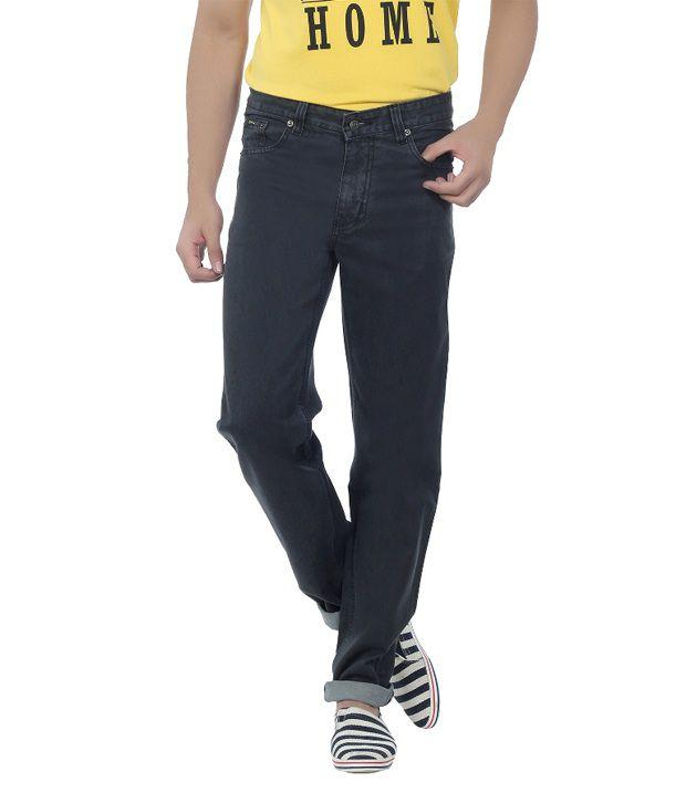 DFU Carbon Black Cotton Denim Jeans