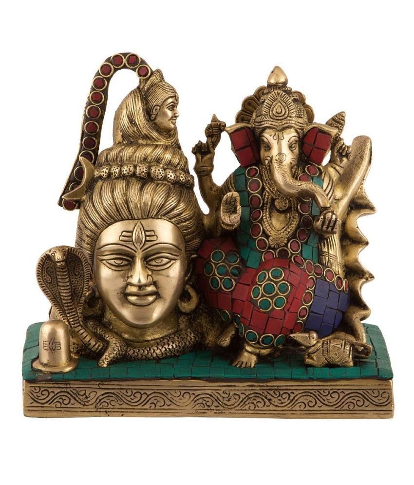 Collectible India Brass Ganesha Idol