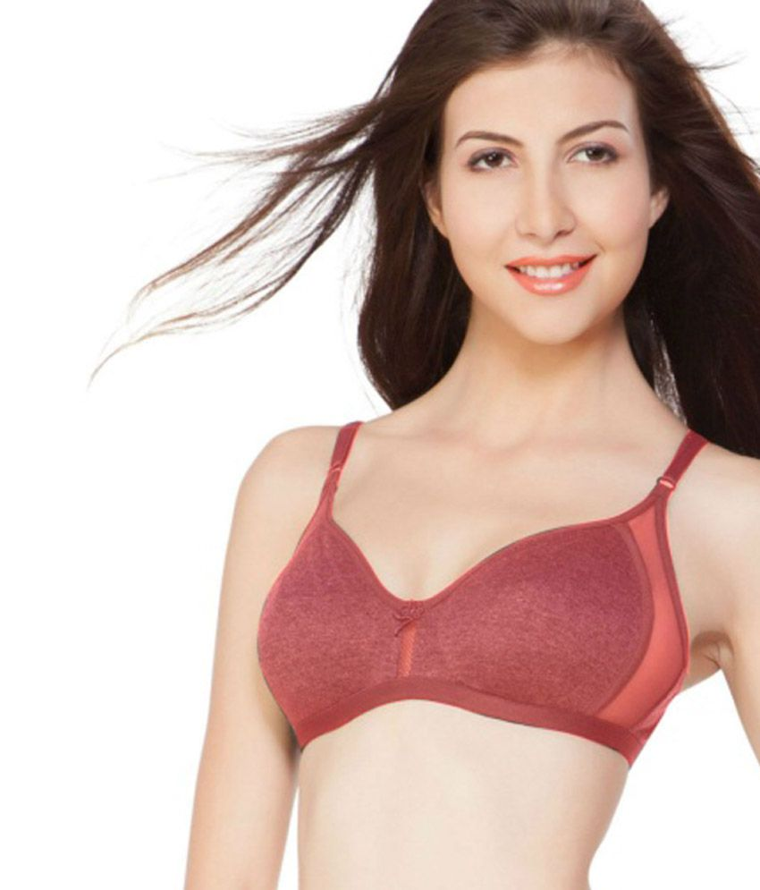 0b68907575 Buy Nagina Orange Cotton Bra Online at Best Prices in India - Snapdeal