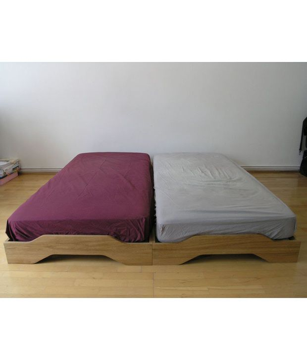 Flute Stackable Beds Without Mattress Buy Flute