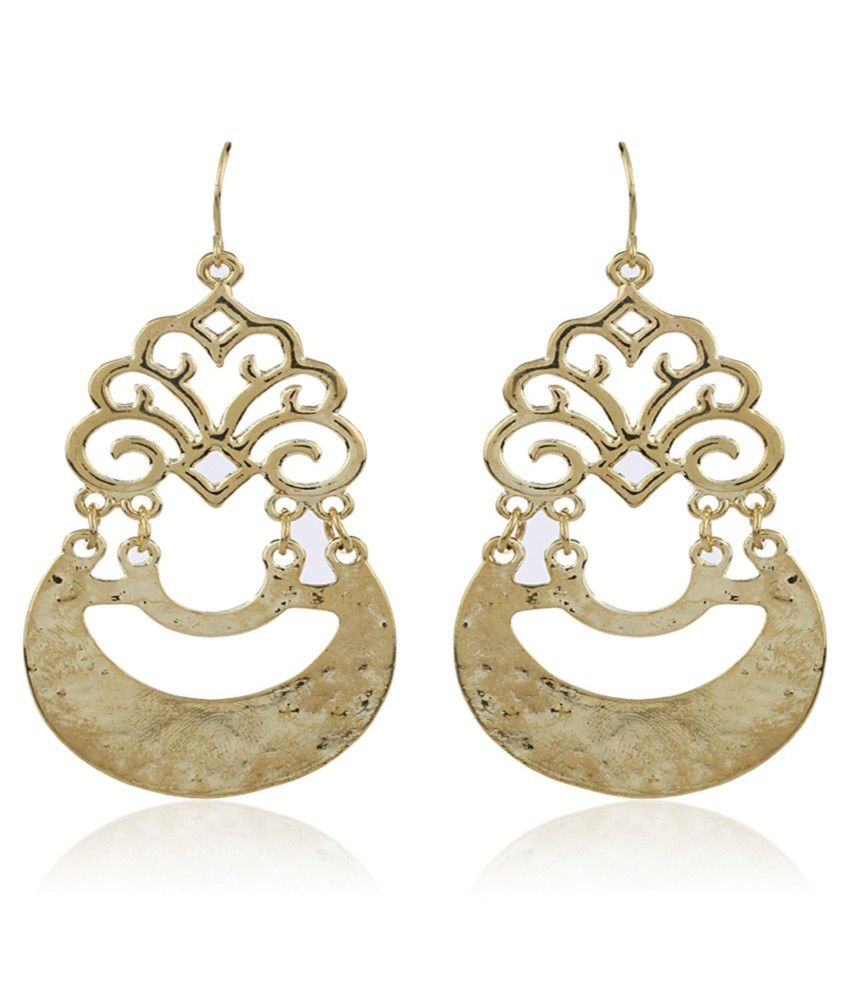 Kraftwork Gold Antique Earrings