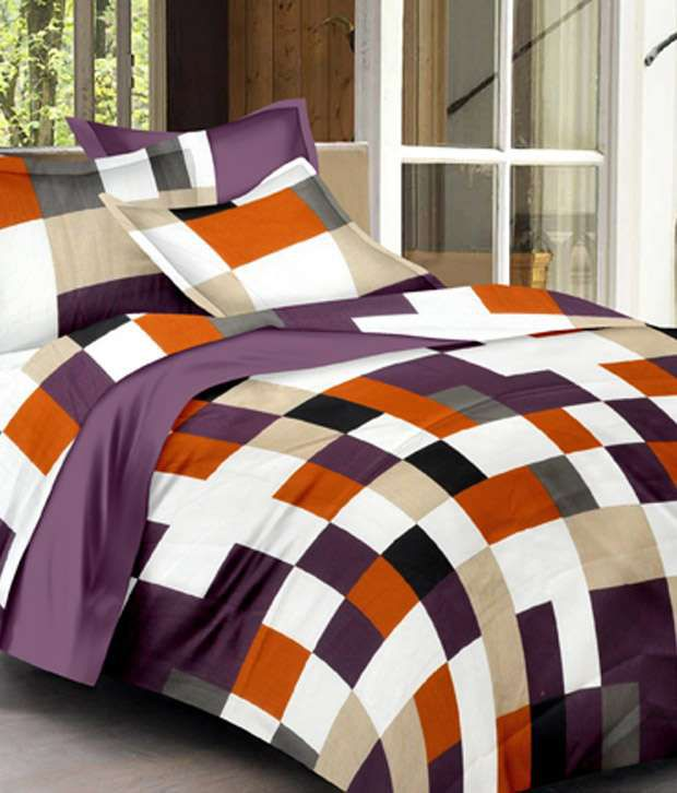Minimalist Modi Bed Linen Fabrics Llp Multicolour Cotton Double Bed Sheet For Your Plan - Unique best sheets for sleeping Top Search