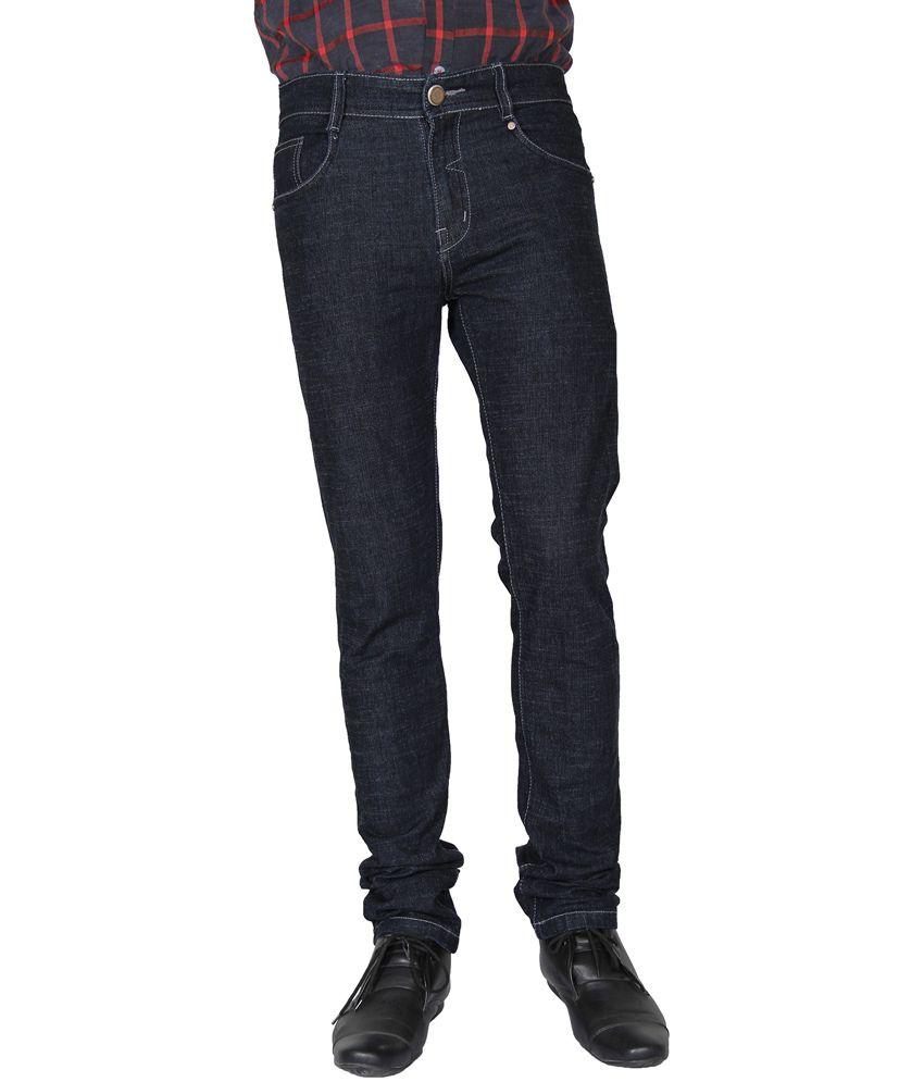 Crocks Club Blue Cotton Blend Jeans