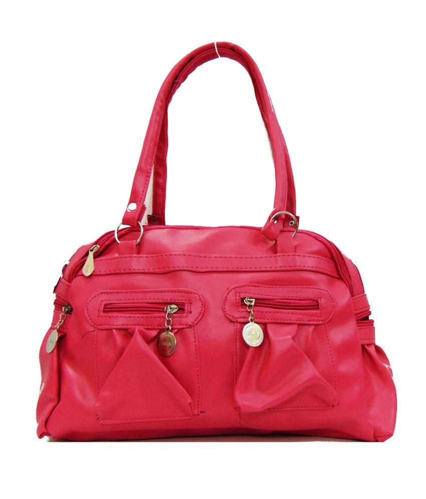 Estoss Pink Designer Handbag