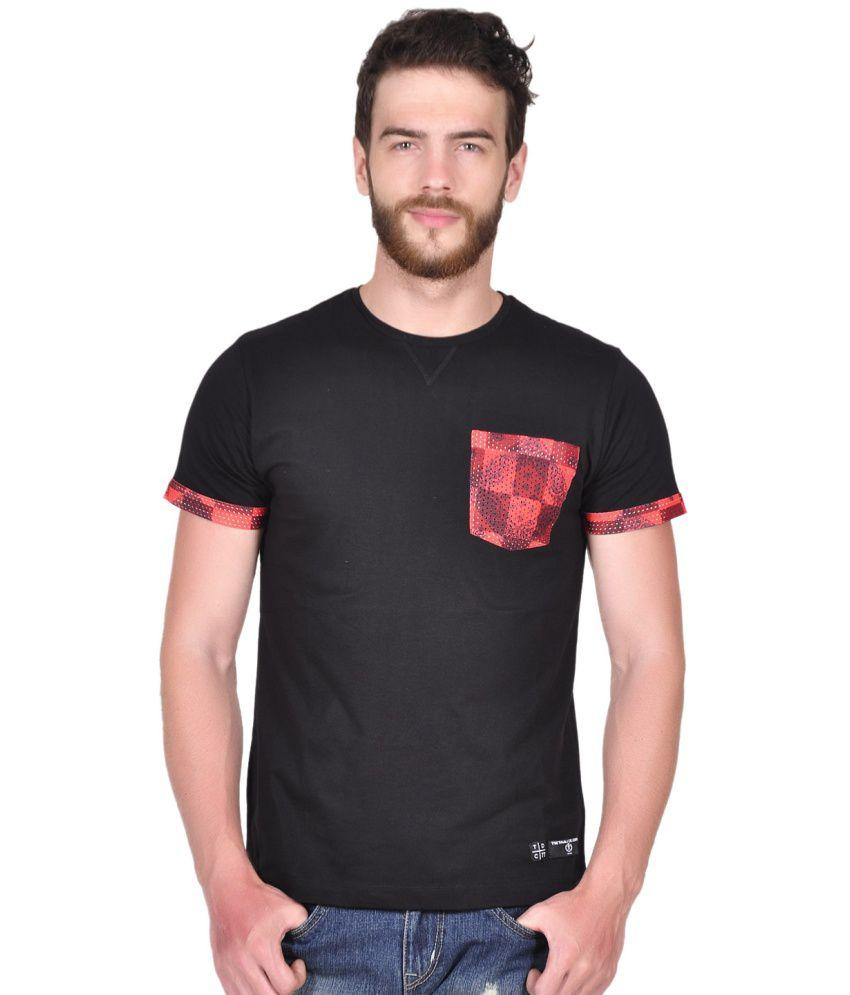 Tiktauli De. Corps. Polyester Printed Round Neck Men T Shirt