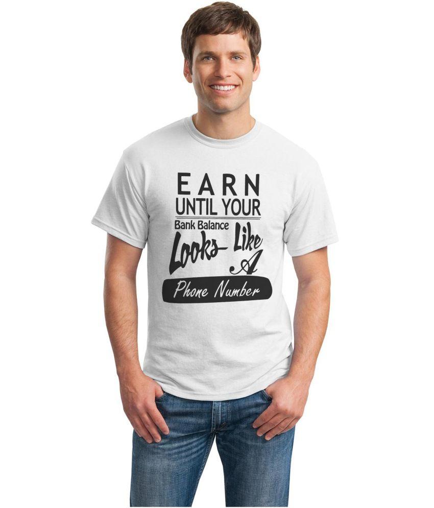 Inkvink Clothing White Cotton T Shirt