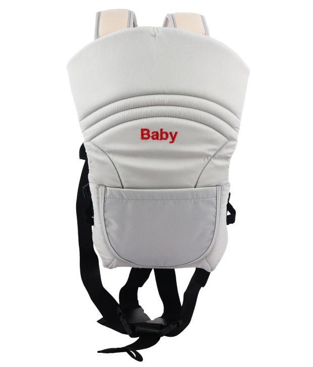 Belle Maison Beige Cotton Adjustable Baby Carrier For Boys