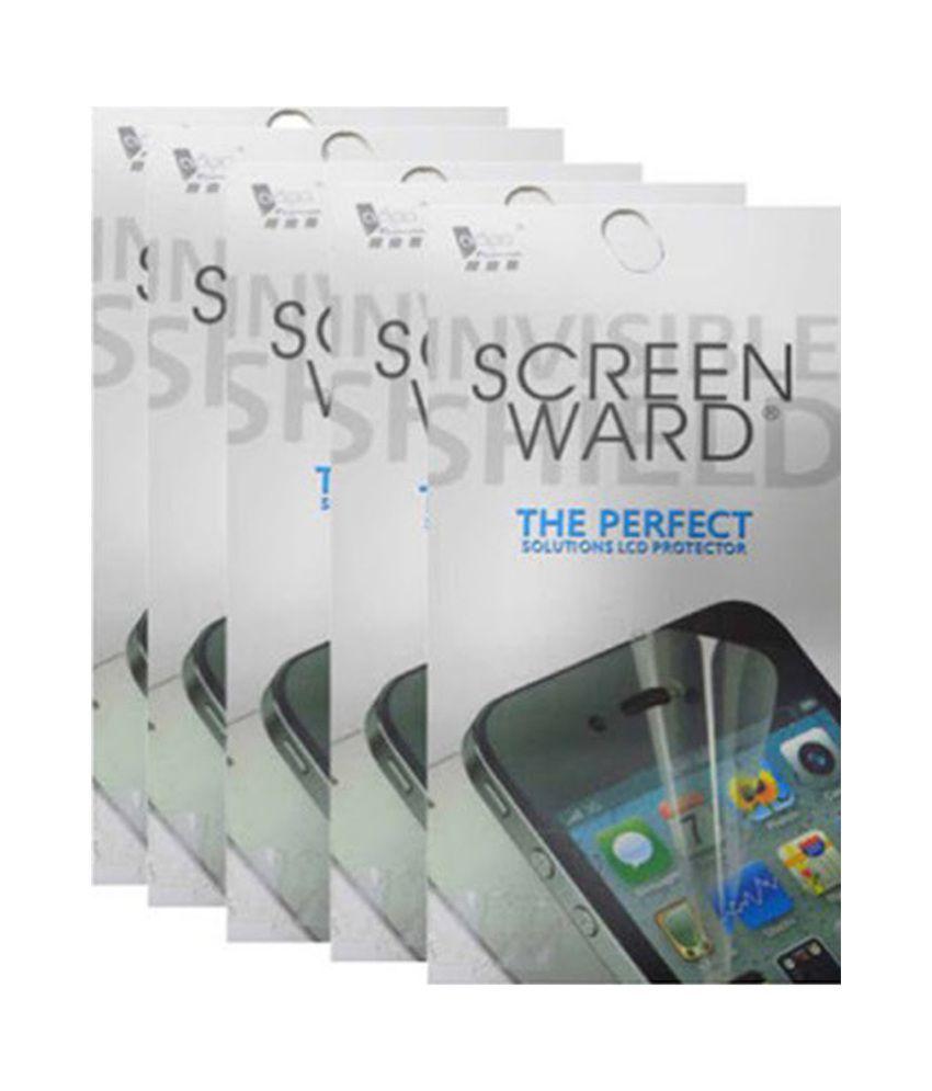 Screenward Clear Screen Guard Pack Of 5 For Apple Air/air2