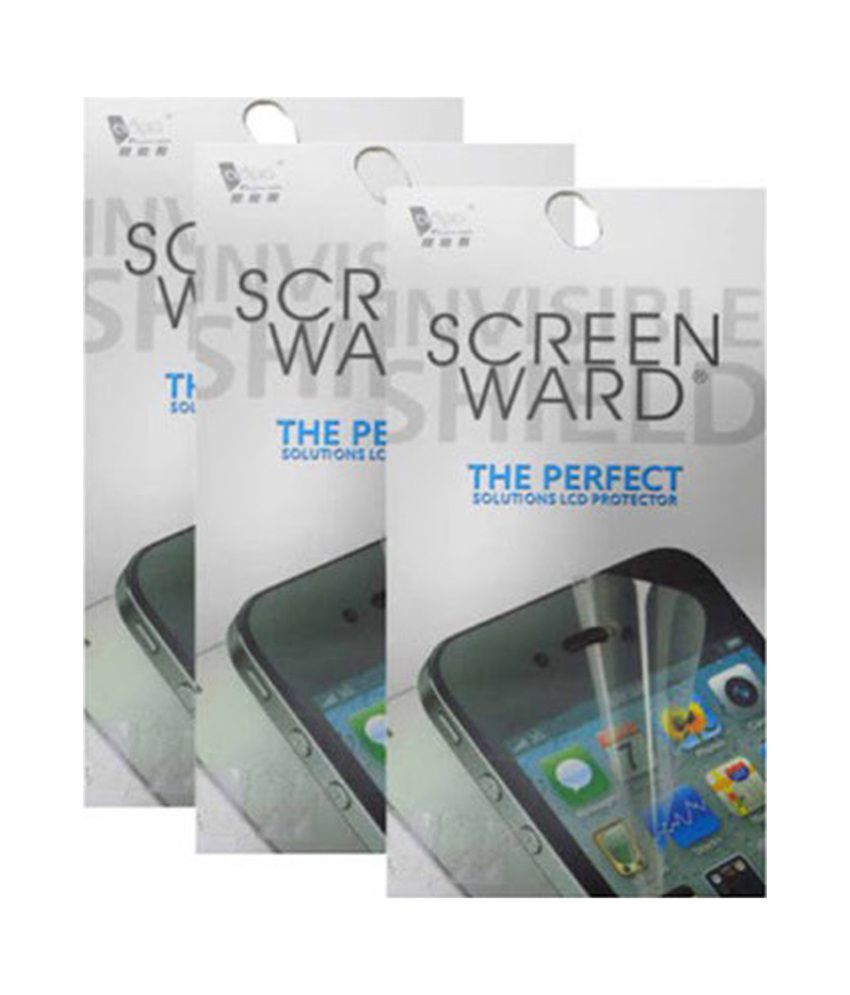 Screenward Clear Screen Guard Pack Of 3 For Nokia Lumia N710