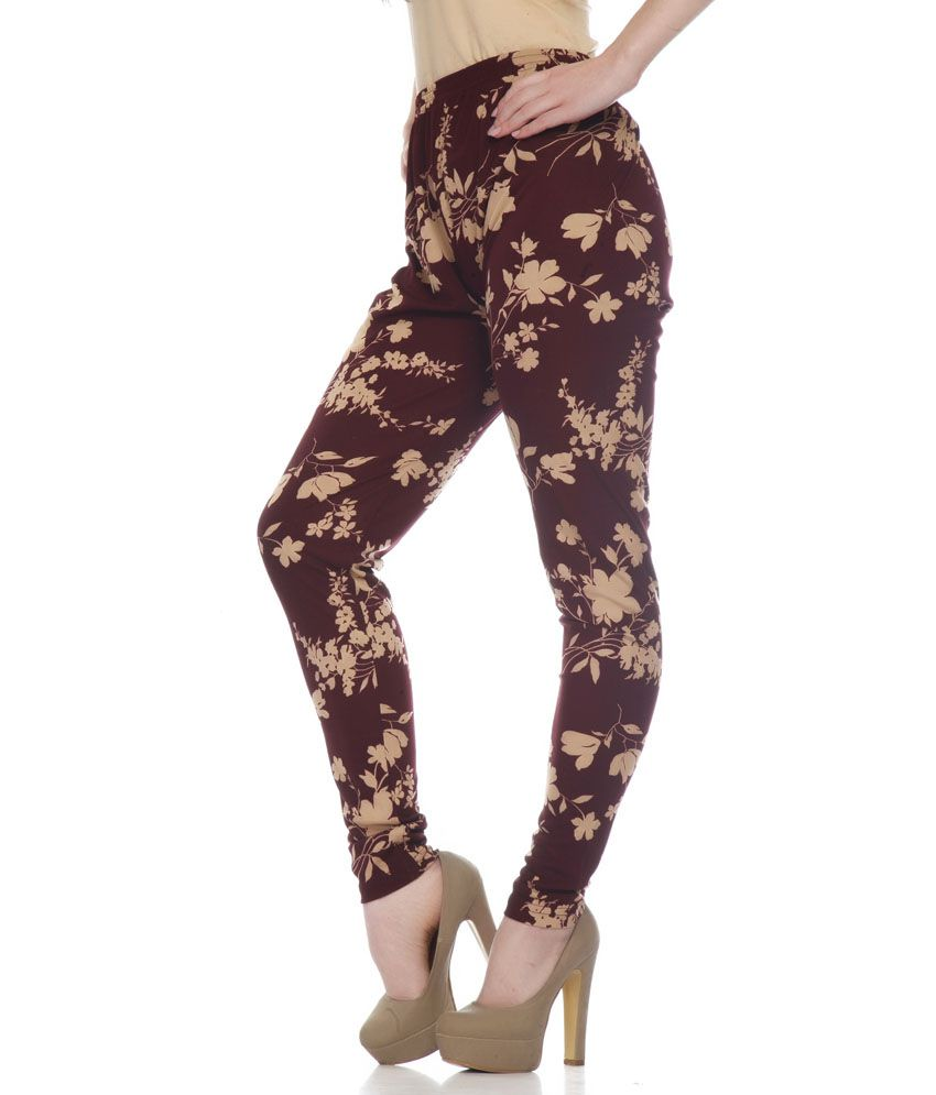 1685f1cb5e61c Mind The Gap Brown Cotton Leggings Price in India - Buy Mind The Gap ...