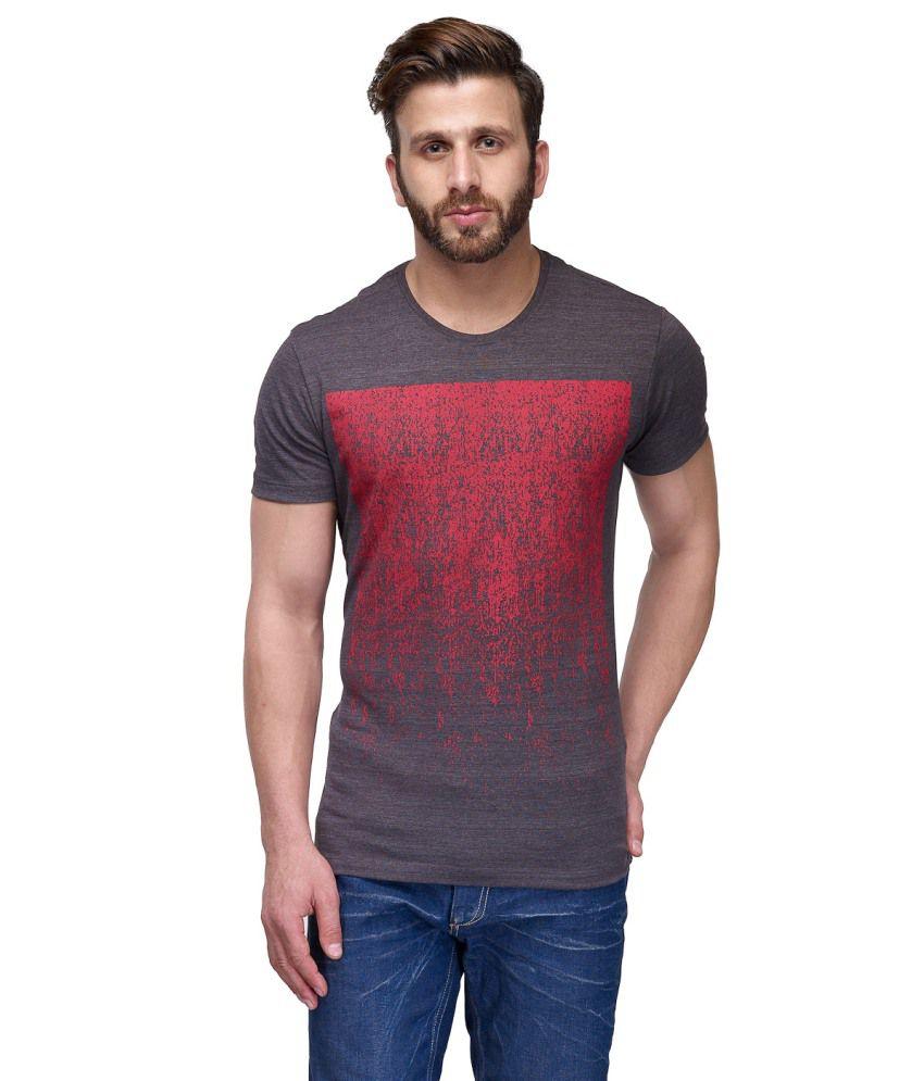 CnM Gray Cotton T Shirt