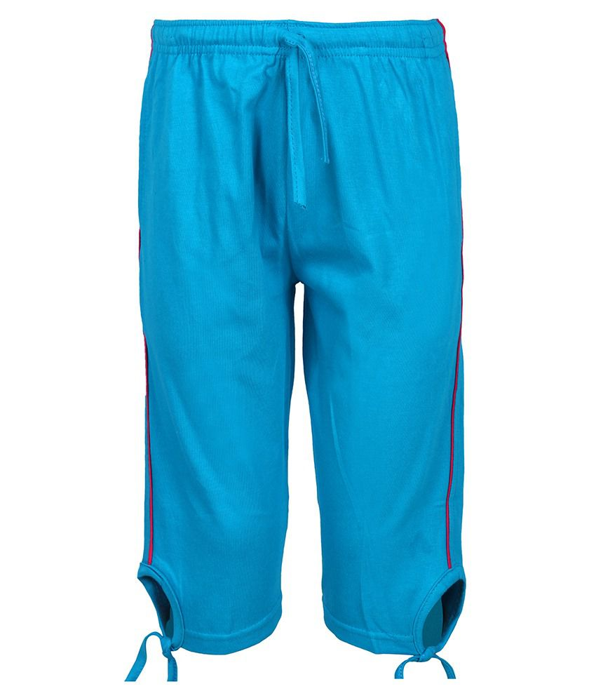 Jazzup Cotton 3/4th Capri For Girls