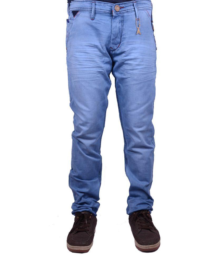 Meghz Narrow Fit Men's Jeans