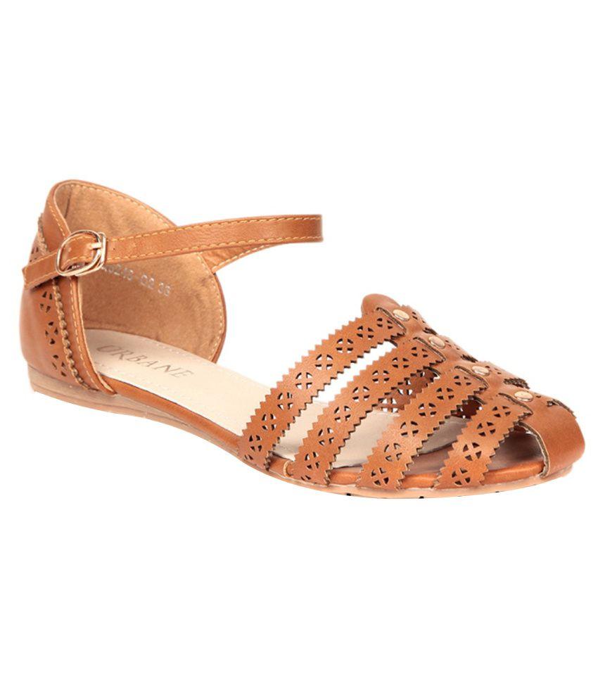 Urbane Attractive Tan Sandals