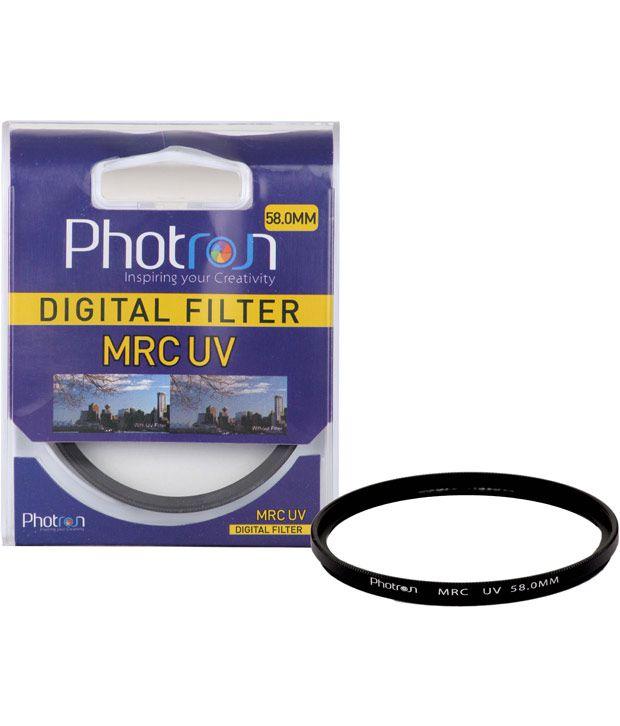 Photron 58.0mm Mrc Uv Digital Multi Coated Filter