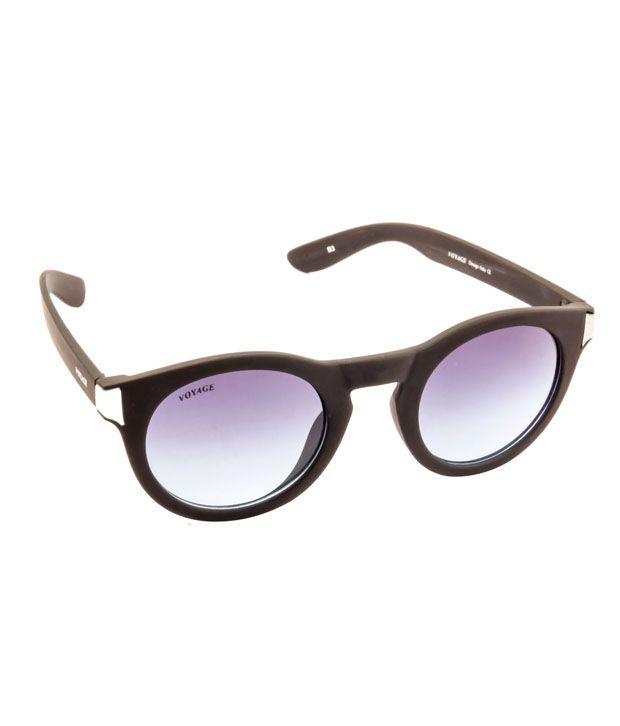 Voyage Blue Non Metal Medium Sunglasses