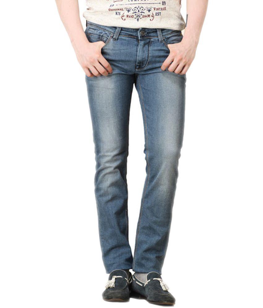 Killer Black Cotton Skinny Fit Jeans