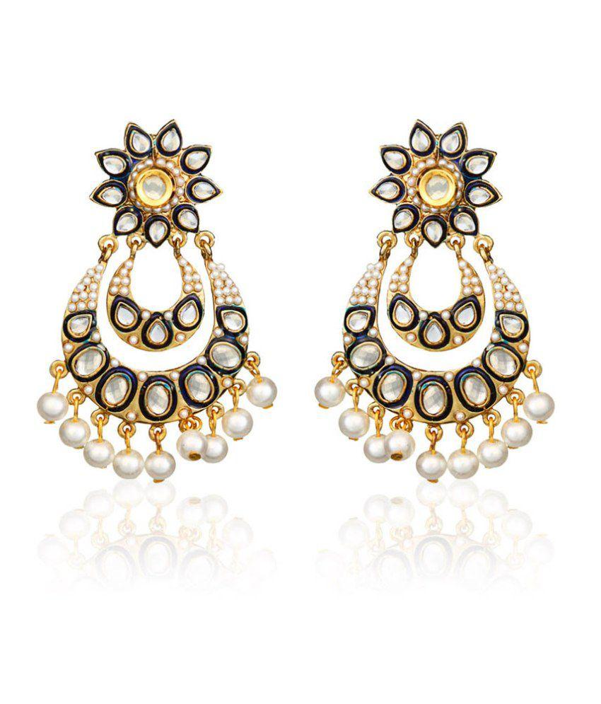 Jewels Galaxy Exclusive Designer Earring