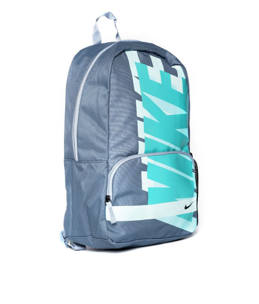 Nike Classic Grey Polyester Backpacks Nike Classic Grey Polyester Backpacks  ... 783335ab59