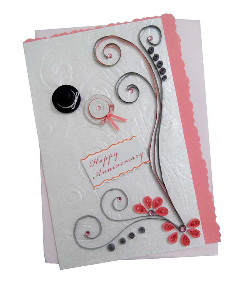Mishti creations handmade happy wedding anniversary greeting card mishti creations handmade happy wedding anniversary greeting card m4hsunfo