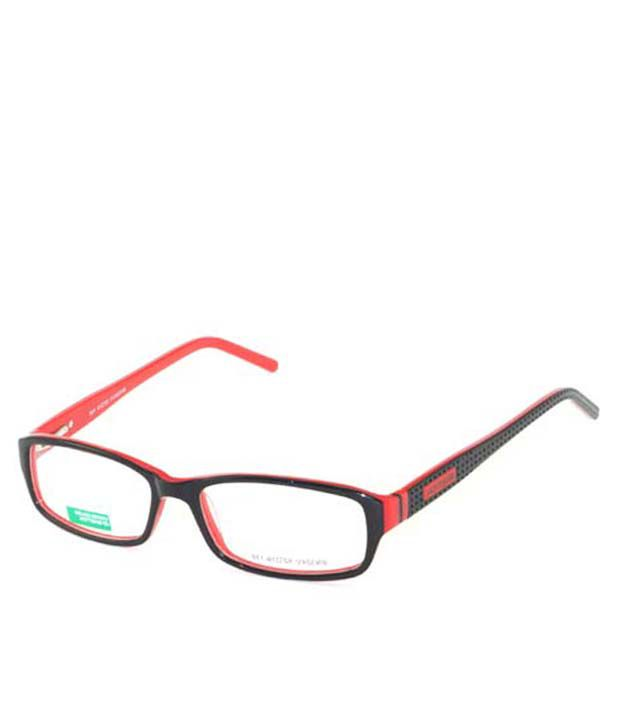 UCB Black & Red Non Metal Benetton Frame - Buy UCB Black & Red Non ...