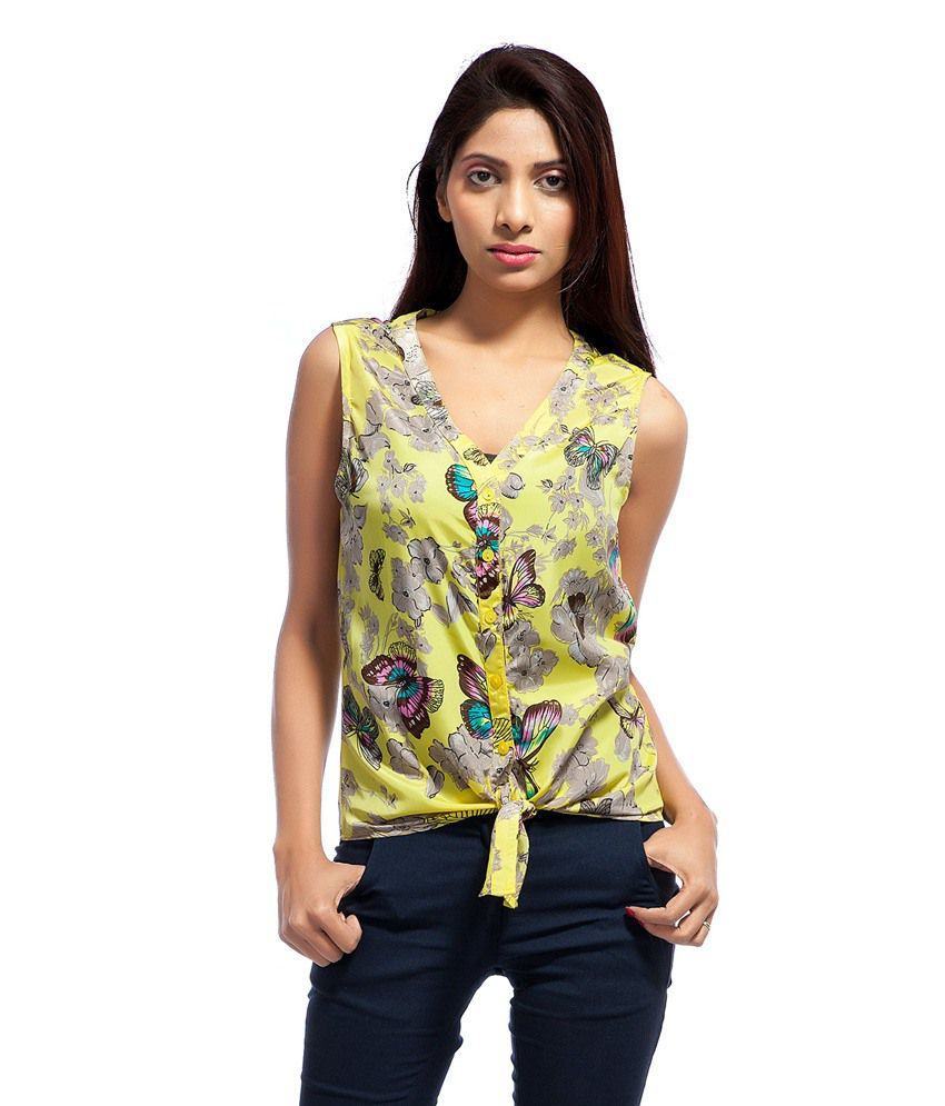 Kridh Multi Poly Georgette Shirts