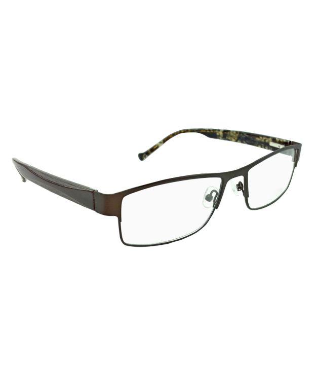 MYEW Eyewear MYEWIDAV1203C3BRNBRN Men Rectangle Eyeglasses