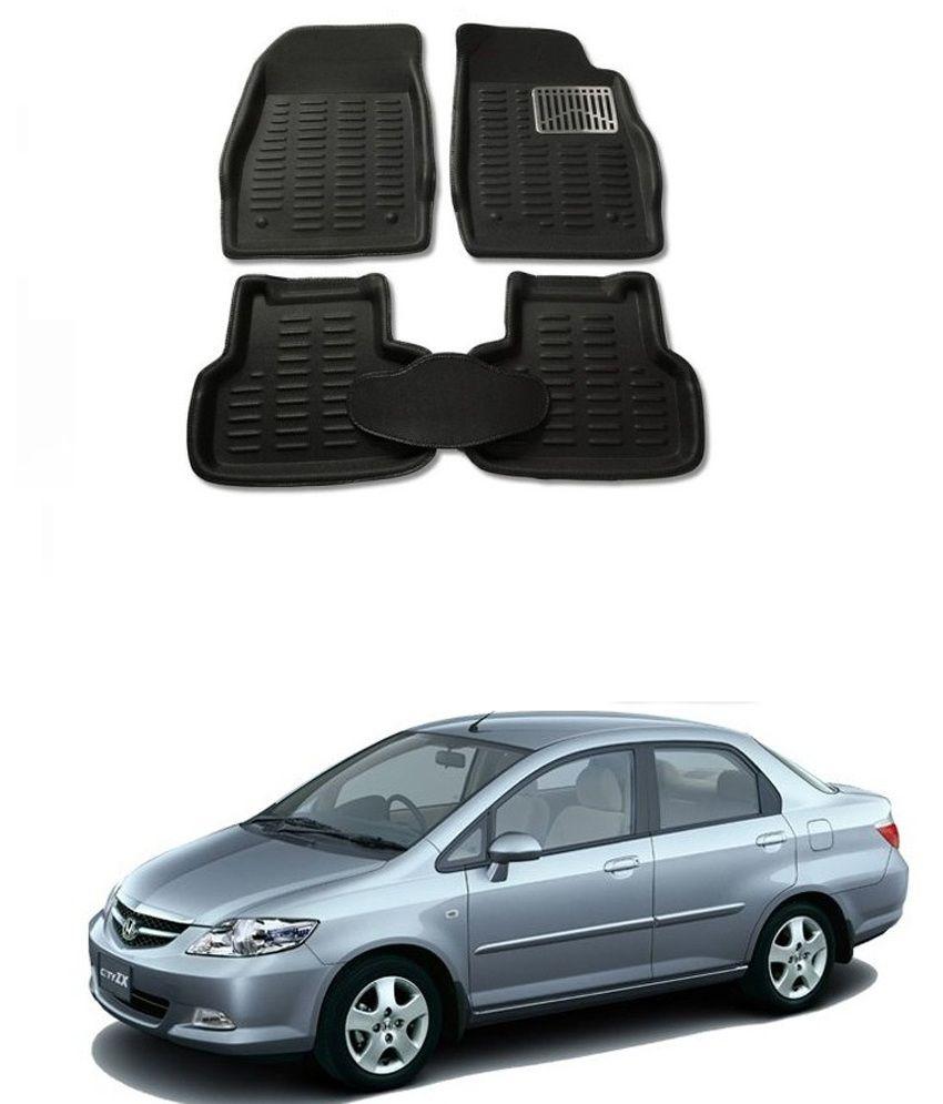 autosun premium 4d city zx car mat honda city black