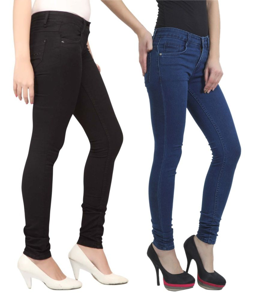 Haltung Multi Cotton Lycra Jeans