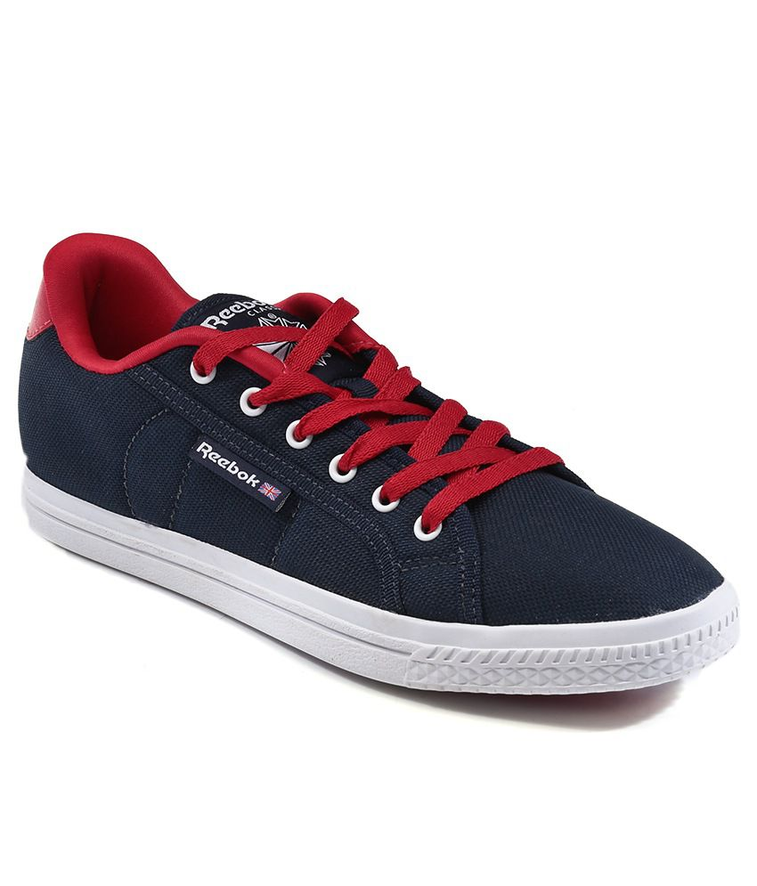 5459dc97b5213a Reebok Navy Canvas Shoe Shoes - Buy Reebok Navy Canvas Shoe Shoes Online at  Best Prices in India on Snapdeal