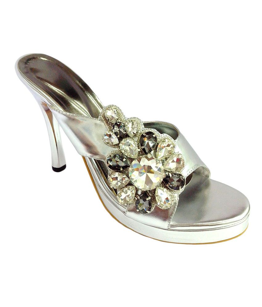 Price Silver High Shoe Heel India Wear Buy Centre Sandals In Party MpzSUqGLV