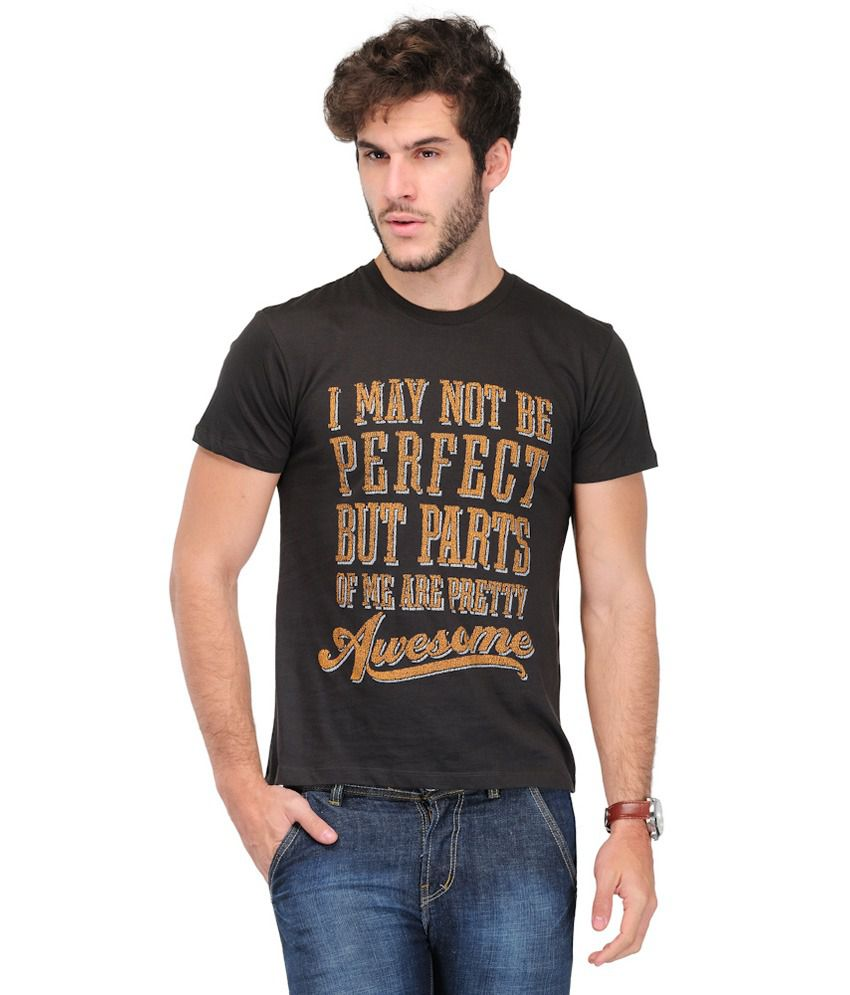 TSX Cotton Round Neck Printed T Shirt - Pack of 1