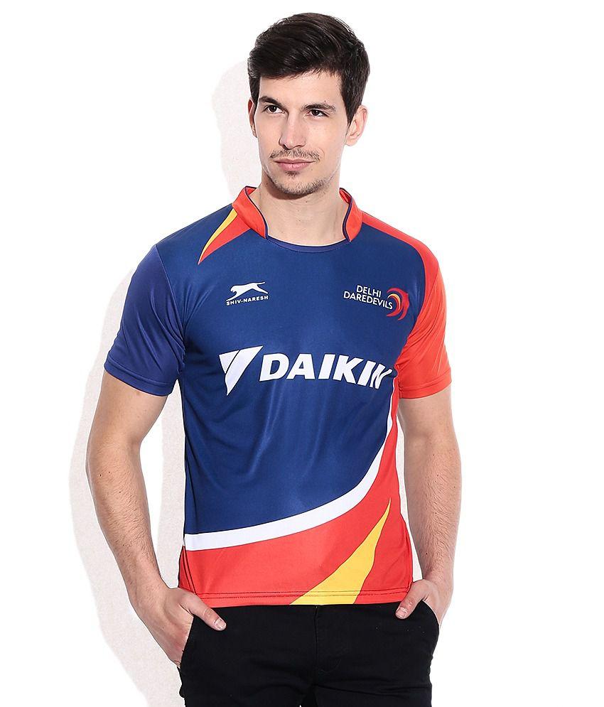 IPL T20 Delhi Daredevils Official Jersey