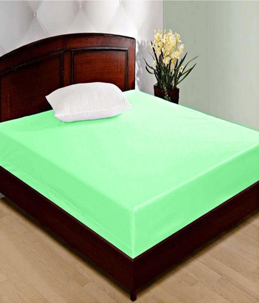 jbg home store green waterproof double bed mattress cover buy jbg
