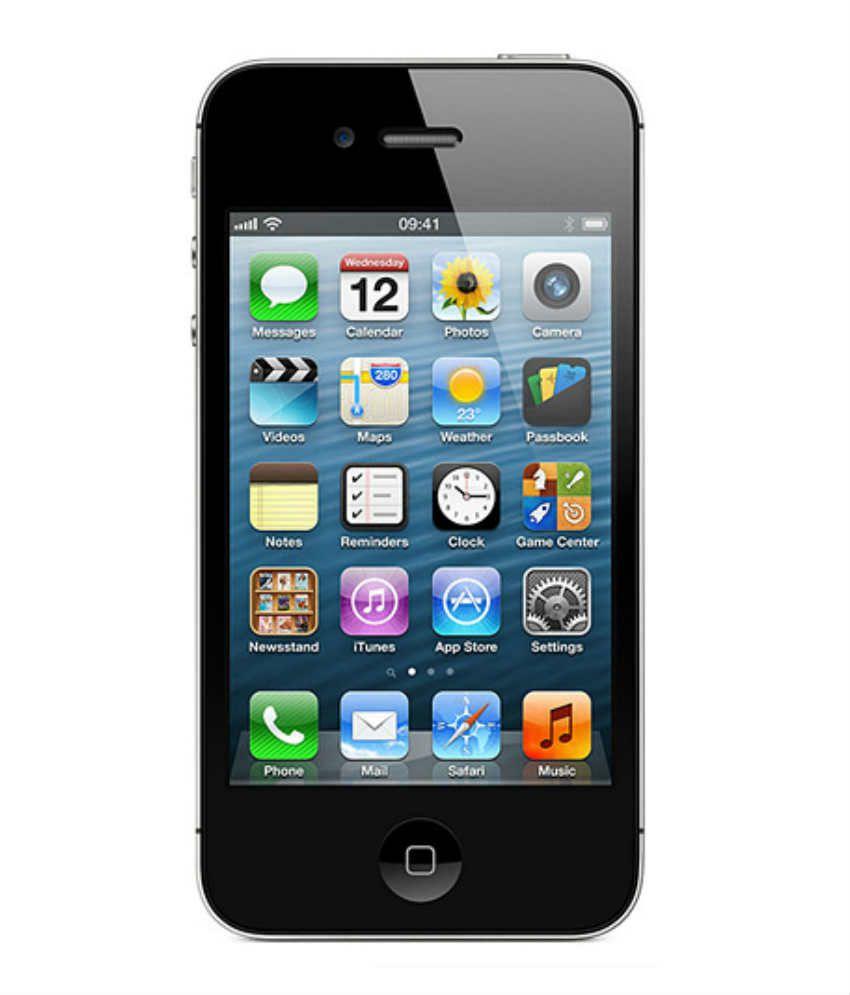 iPhone 4S (8GB, Black)
