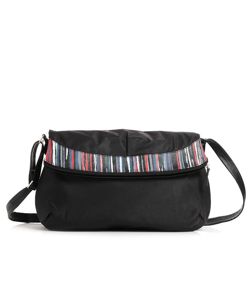 Baggit Black Sling Bag