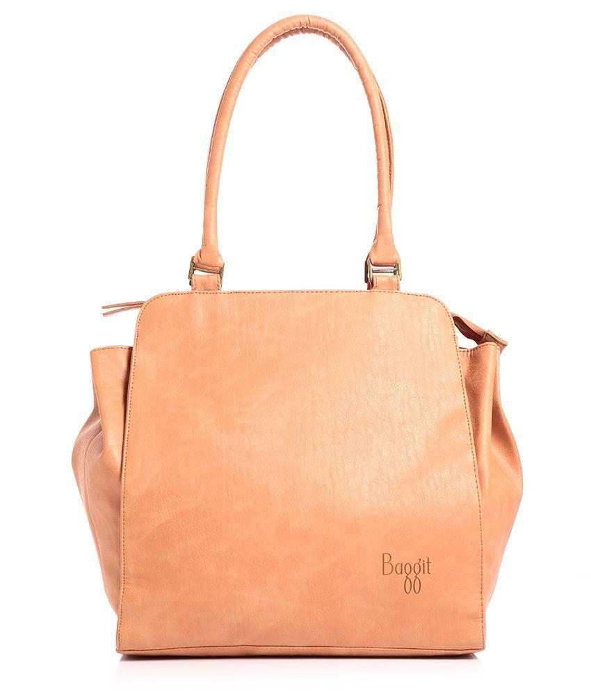 Baggit Beige Shoulder Bag