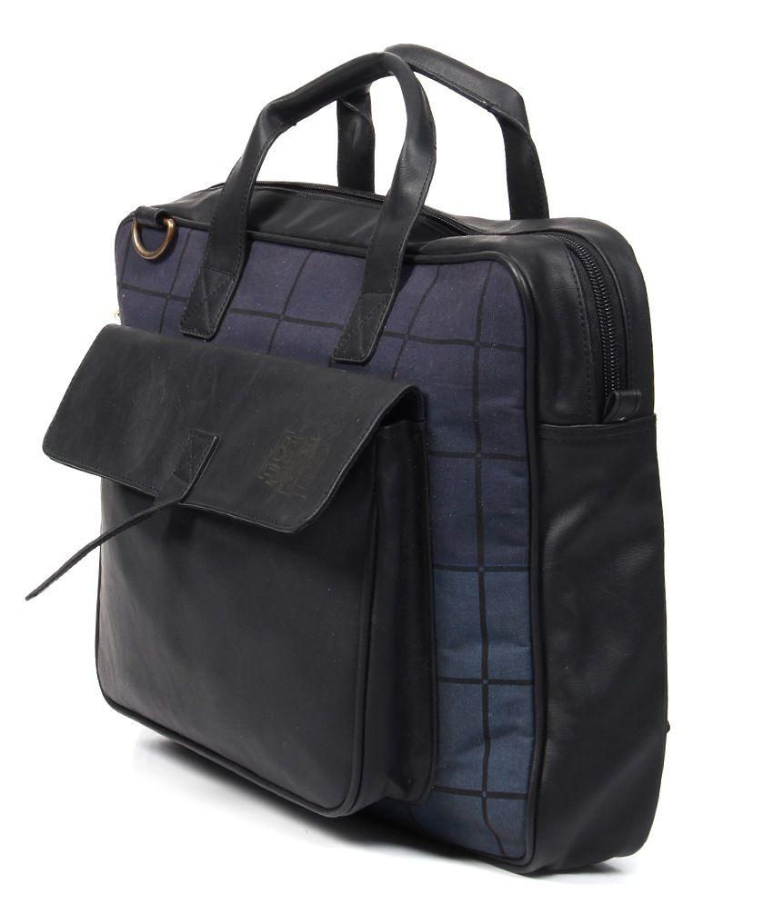 Baggit Blue Laptop Bag