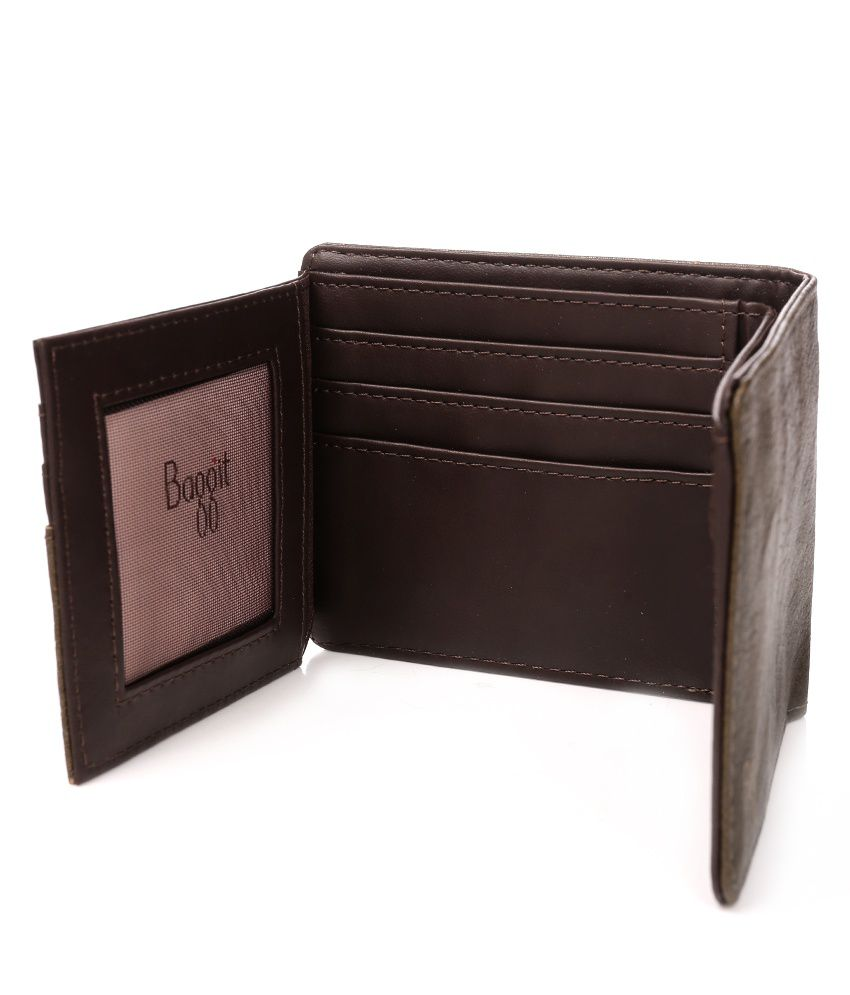 Baggit Men Casual Brown Wallet