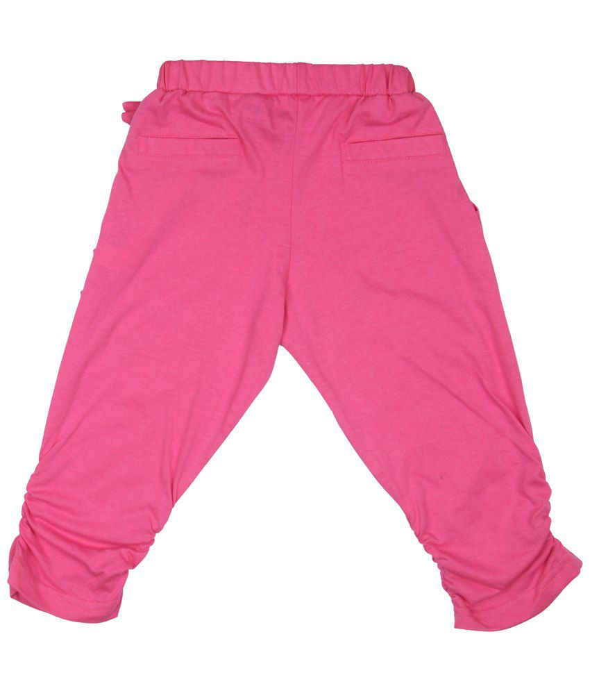 Stop Pink Sailor Low Crotch Pants For Girls