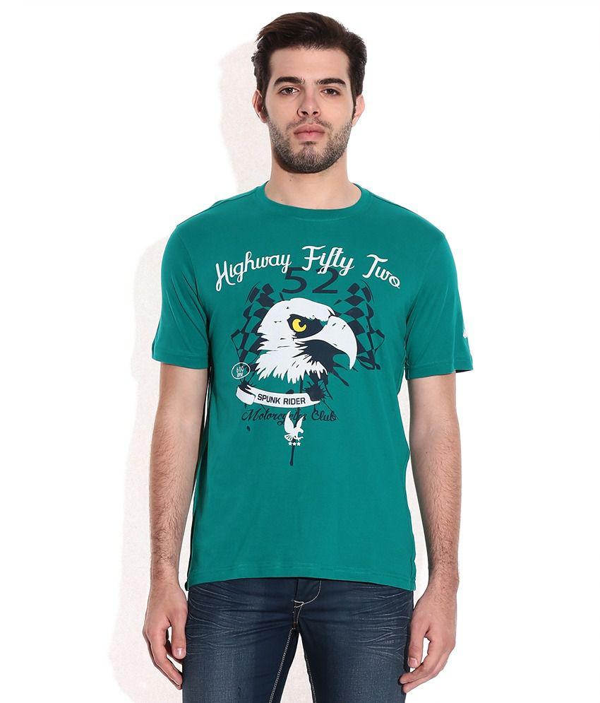 Spunk Utopic Teal T-Shirt