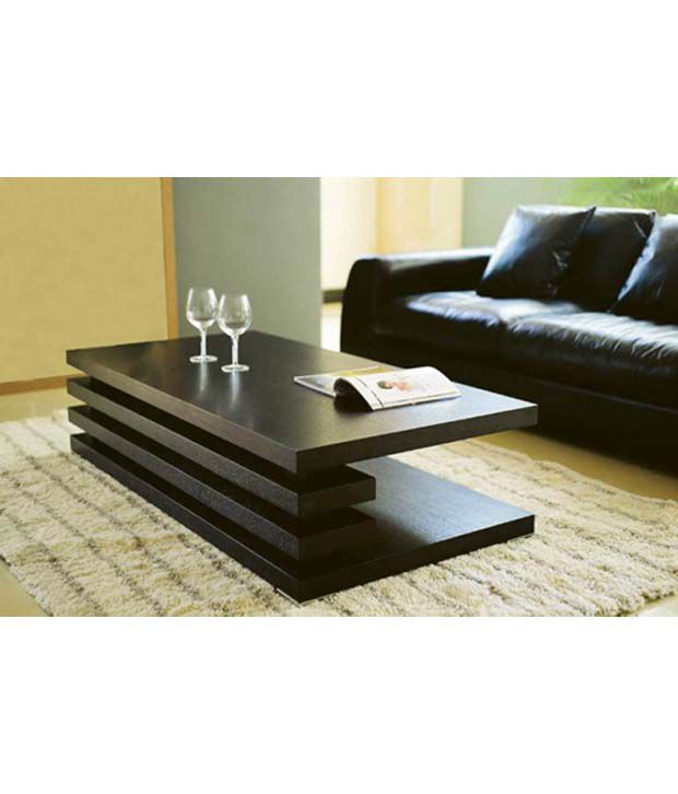 dream furniture rectangle shaped center table brown buy