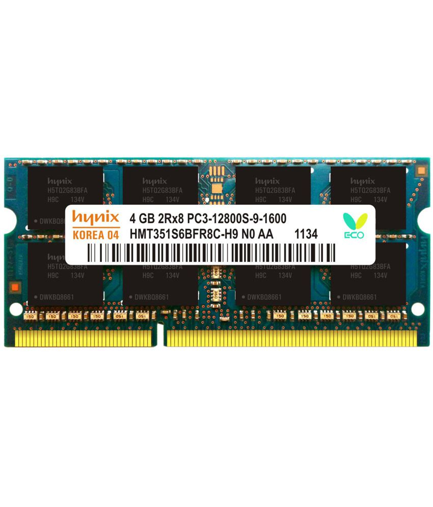Hynix Laptop Ddr3 4gb 1600 Mhz Ram